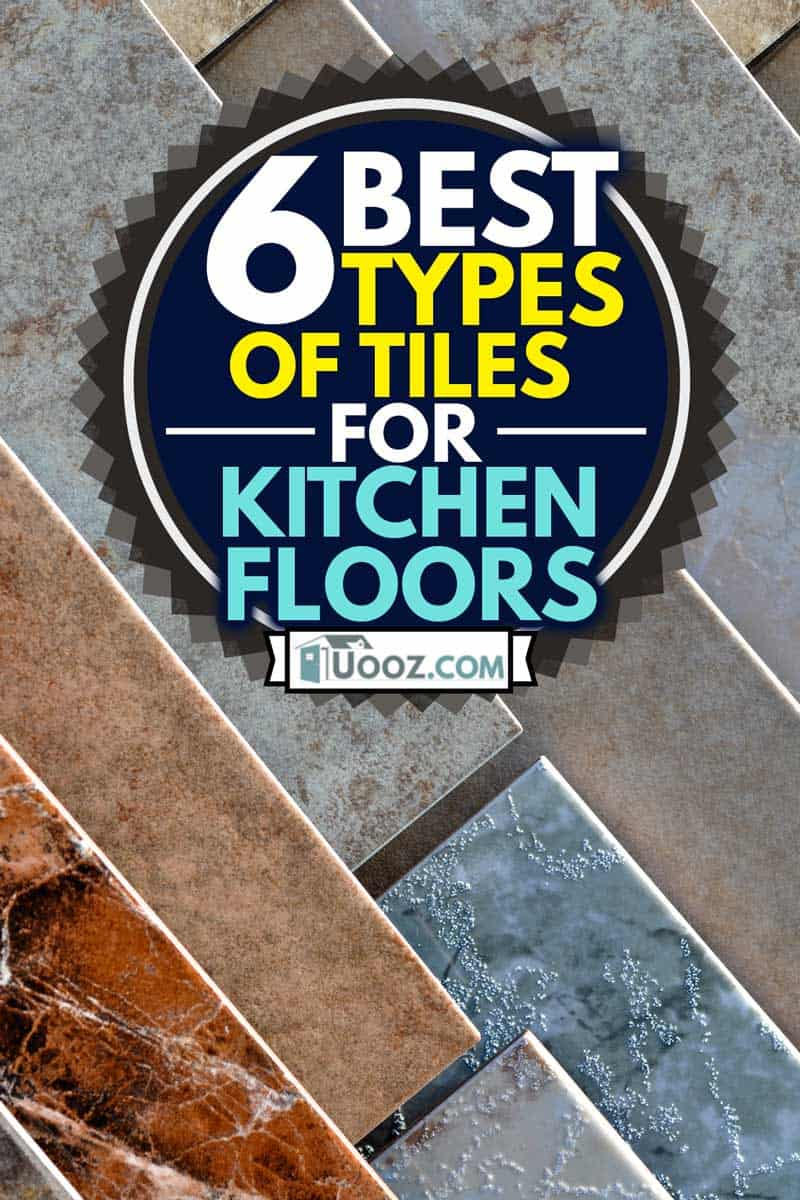 Kitchen tile Flooring Samples on Display at Home Improvement Store, 6 Best Types of Tiles For Kitchen Floors