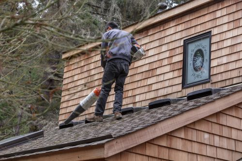 Read more about the article Can You Use A Leaf Blower To Clean Gutters?