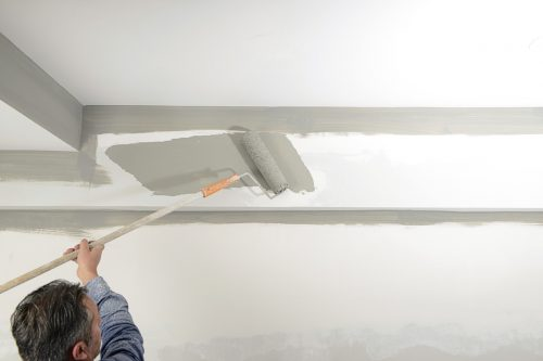 Why is the Ceiling Bubbling when I Paint it? [4 Possible Causes and Solutions]