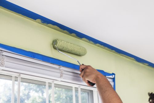 How to Not Get Paint on Ceiling When Painting the Walls [4 Tips]