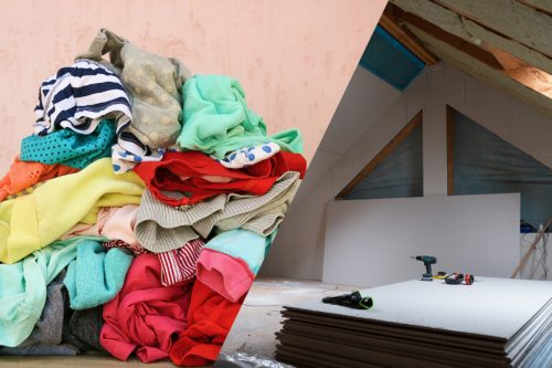 Can You Store Clothes In The Attic?