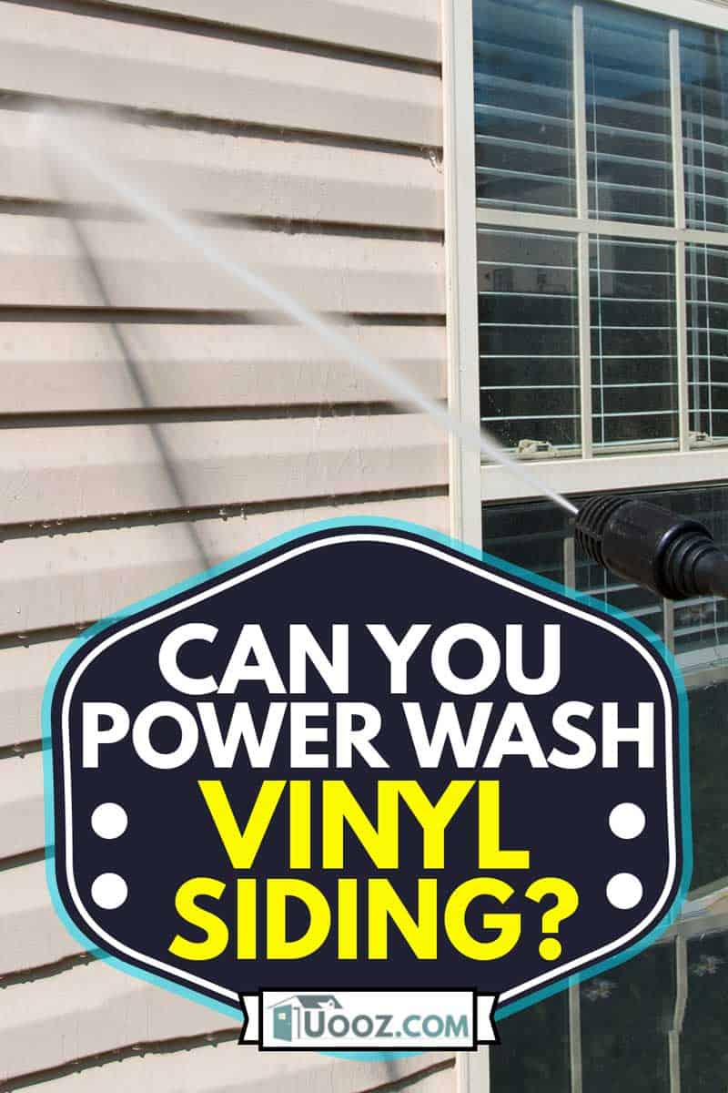 Power washing. House wall vinyl siding cleaning with high pressure water jet, Can You Power Wash Vinyl Siding?