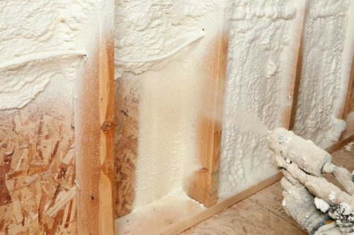 Can You Spray Foam Basement Walls?