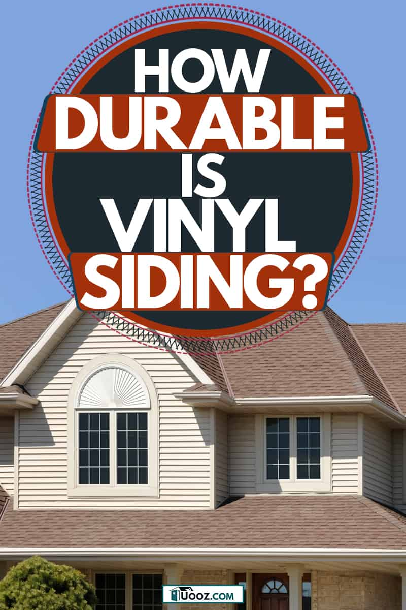 A luxurious mansion with brown vinyl sidings and brown roofings, How Durable Is Vinyl Siding?