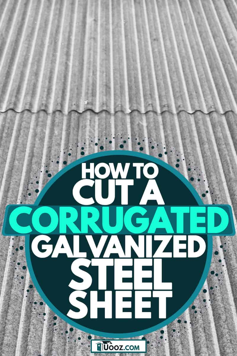 A photo of corrugated galvanized steel sheet, How To Cut A Corrugated Galvanized Steel Sheet