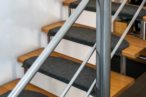 How To Carpet Open Riser Stairs? [8 Steps]