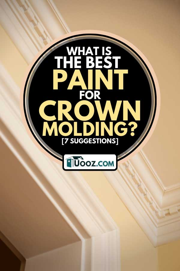 Crown moulding detail of a residential home, What Is The Best Paint For Crown Molding? [7 Suggestions]