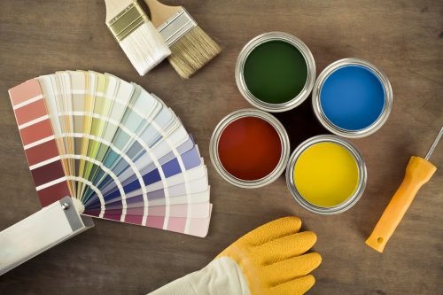 How long does porch paint take to dry?