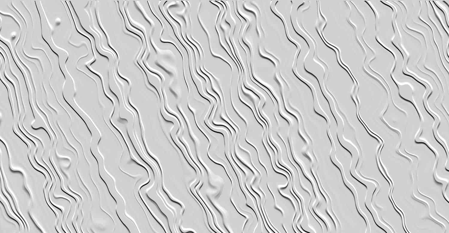 Closeup of a painted white stucco wallpaper texture pattern background