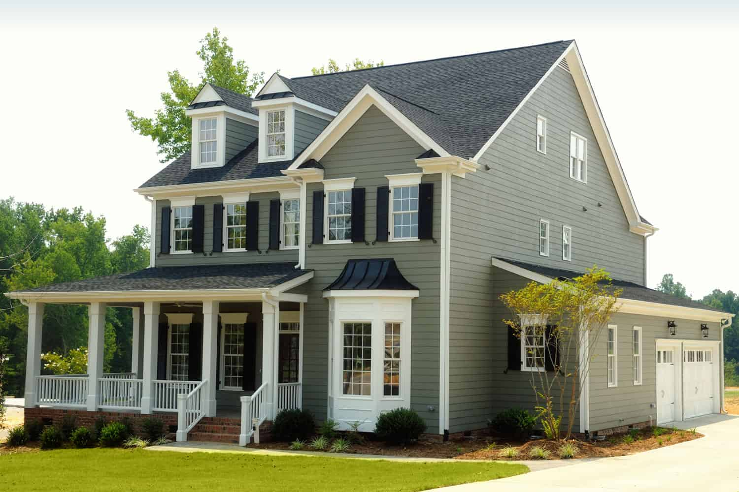 Beautiful two story suburban home with attached garage