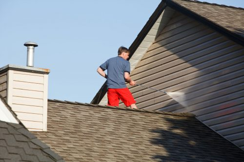 How To Clean Vinyl Siding High Up [Even on the Second Story!]