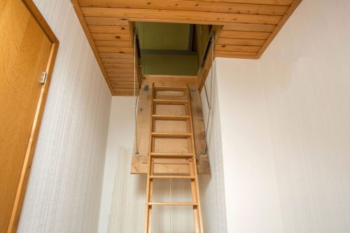 Can Attic Access Be in a Bedroom or Bathroom?