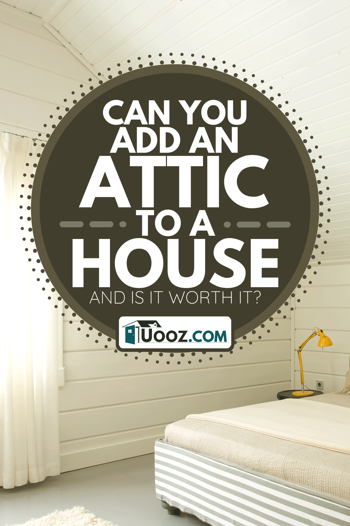 A wide bedroom interior in the attic, Can You Add An Attic To A House - And Is It Worth It?