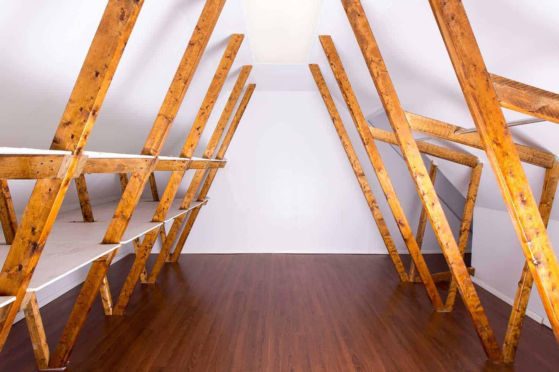Empty attic storage