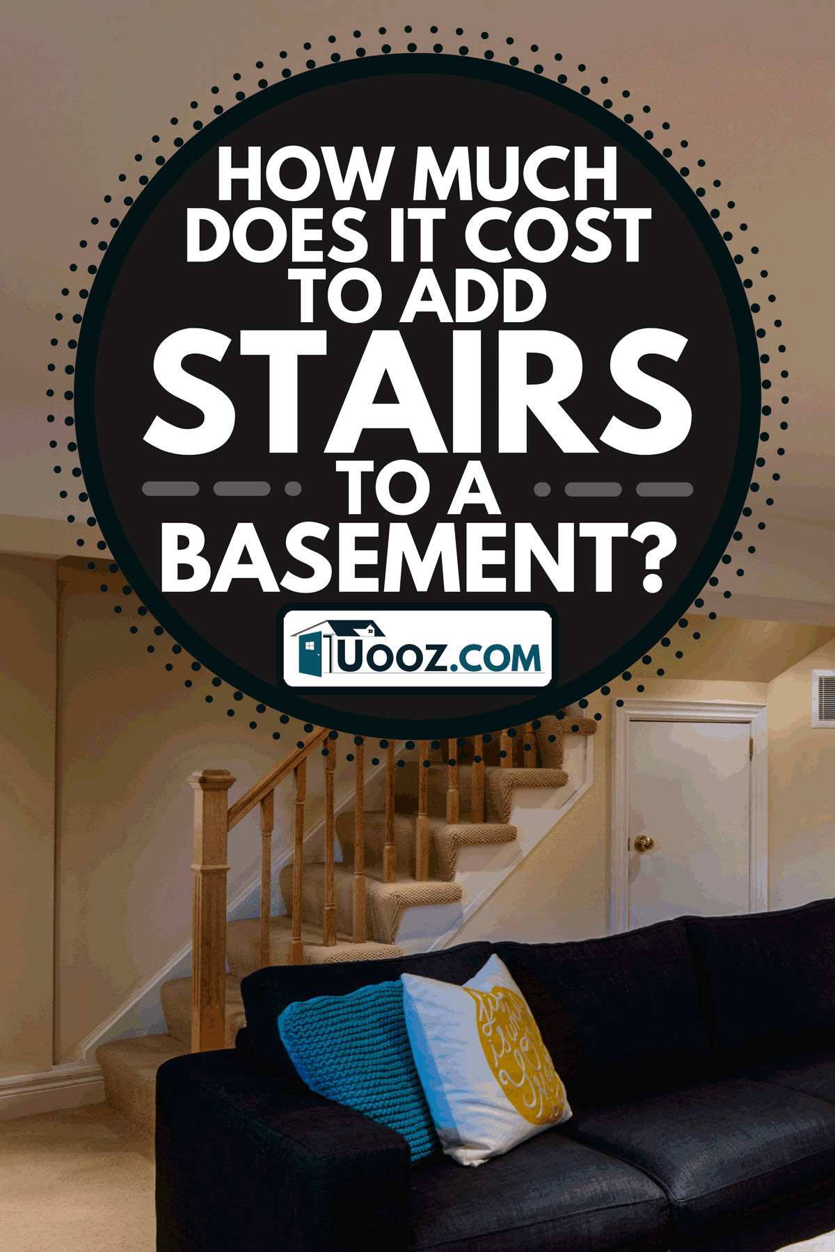 An interior of modern renovated floor basement, How Much Does It Cost To Add Stairs To A Basement?