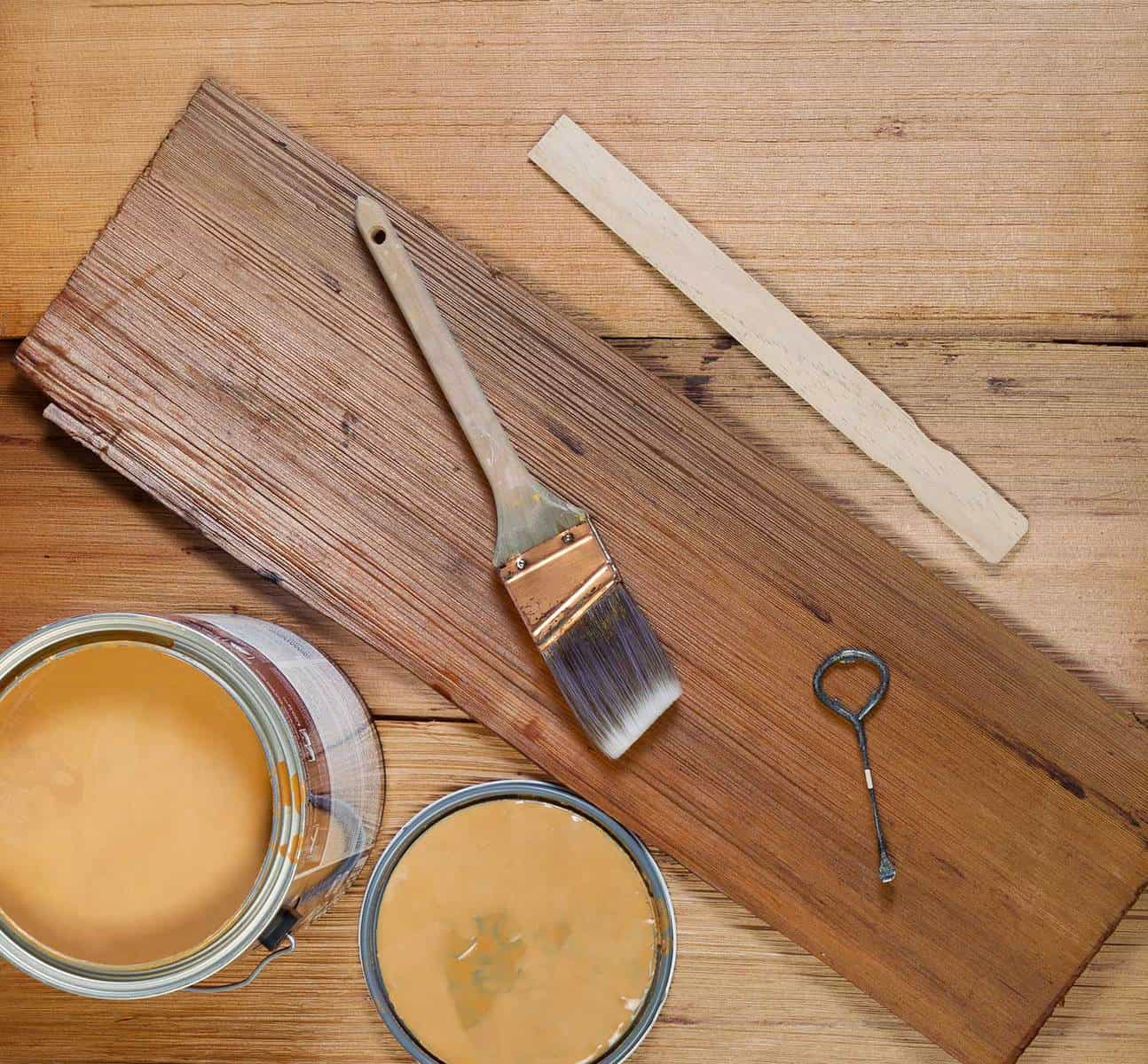 Basic tools for staining wood