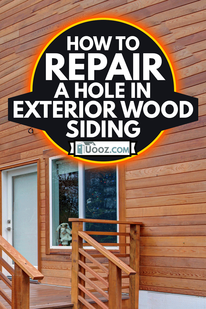 Charming newly renovated home exterior, natural wood siding,How To Repair A Hole In Exterior Wood Siding