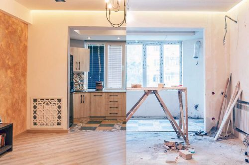 Read more about the article Floor Or Walls First? How To Finish A Gutted Room!