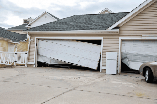 Read more about the article Should You Crack Your Garage Door During A Hurricane?