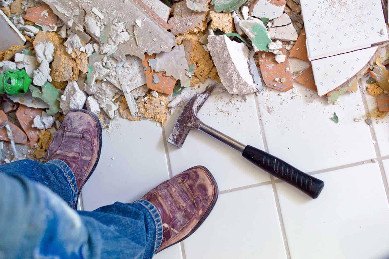 Renovate and refurbish the bathroom