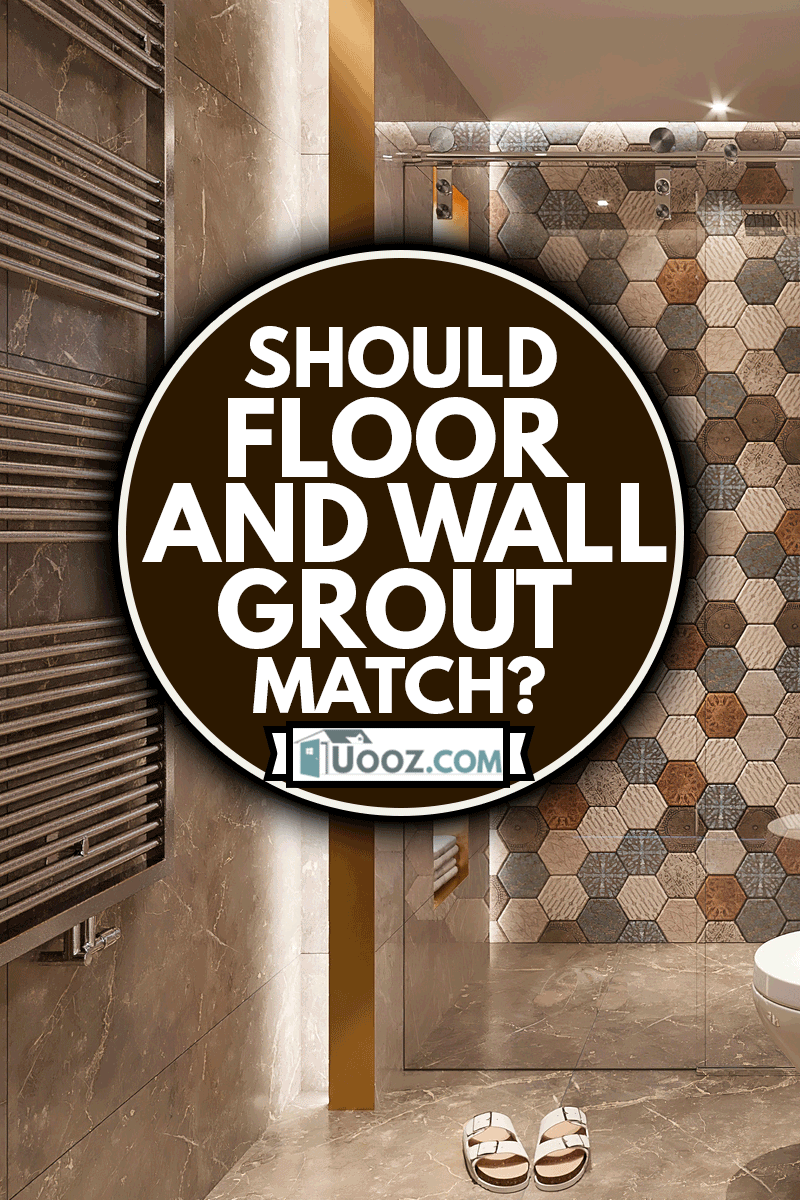 Luxurious bathroom interio, Should Floor And Wall Grout Match?