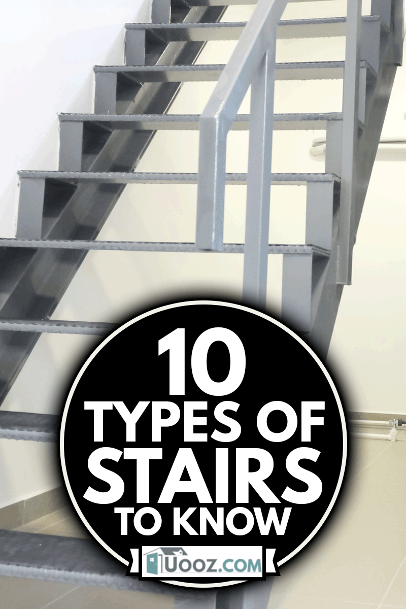 View on downstairs with indoor Package unit of cooling and air conditioning system, 10 Types Of Stairs To Know
