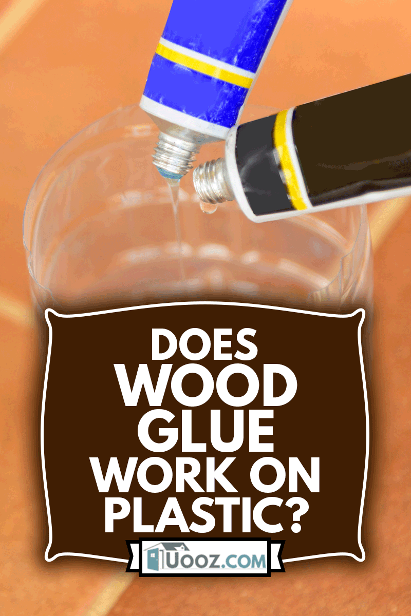 The man Mixing the epoxy glue for stick the plastic part, Does Wood Glue Work On Plastic?