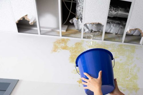 Read more about the article Why Is My Basement Ceiling Leaking? [And What To Do About It!]