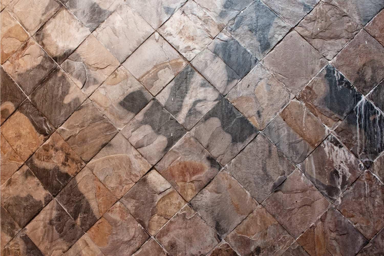 stone tiles close up photo