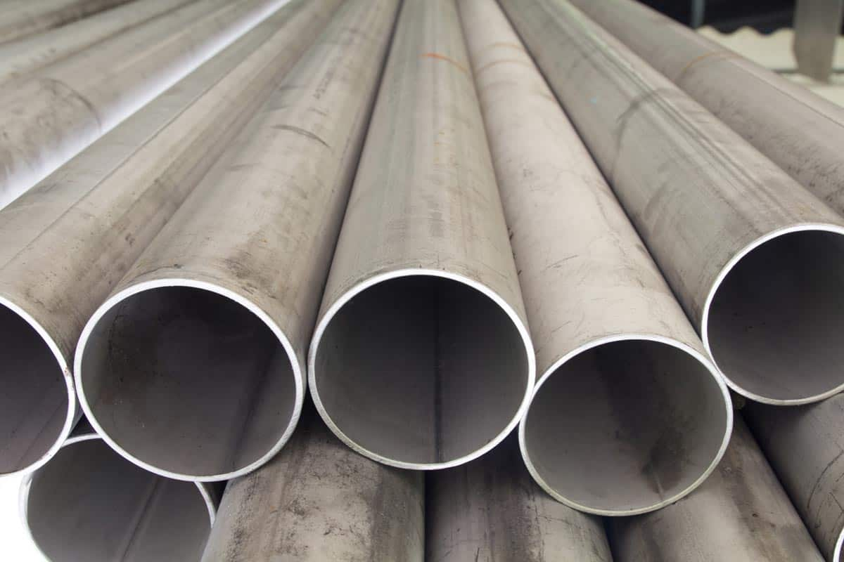 Galvanized pipe laying on the ground, How Hot Can Galvanized Pipe Get?