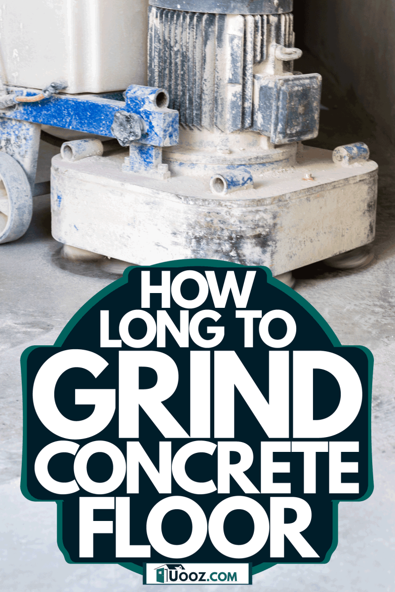 Grinding and polishing a concrete floor, How Long To Grind Concrete Floor
