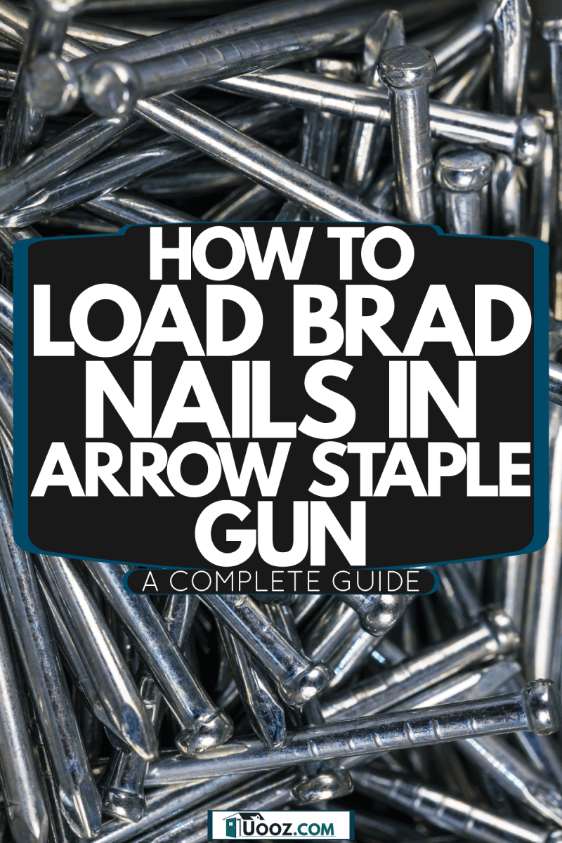 Different sizes of nails photographed up close, How To Load Brad Nails In Arrow Staple Gun [A Complete Guide]