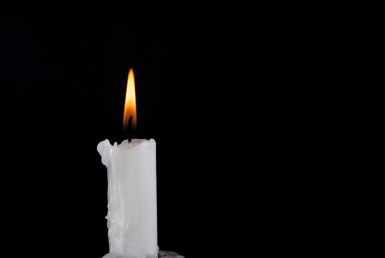 White ParaWhite paraffin candle burningffin Candle burning