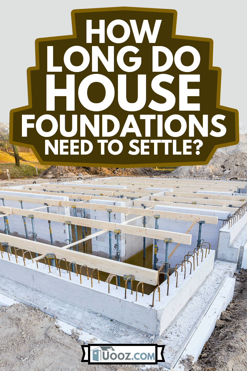 onstruction site with foundation for new house to be built, How Long Do House Foundations Need To Settle?