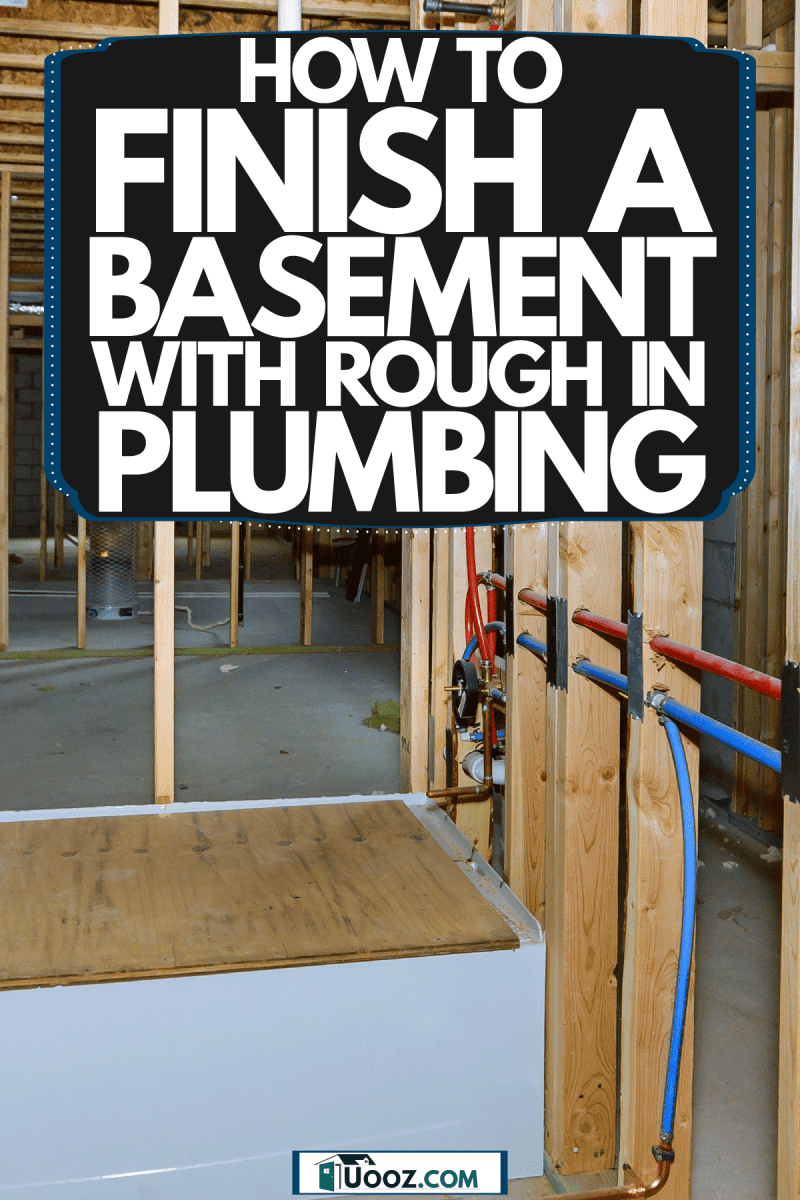 Basement bathroom rough in and other visible electrical installation, How To Finish A Basement Bathroom With Rough In Plumbing
