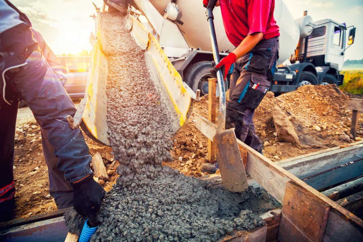 Pouring concrete to the foundations of a new home, Can You Pour House Foundations In The Rain?